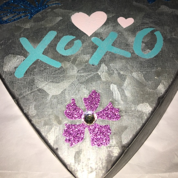 Other | Xoxo Metal Heart Wall Decor | Poshmark